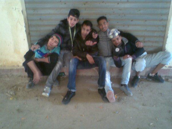 Alae & Radouane & Bilal & Houssam & Nizar