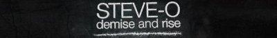Steve-O demise and rise