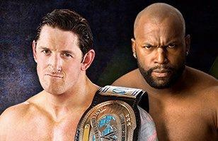 Intercontinental Champion Wade Barrett vs. Ezekiel Jackson over the limit 2011