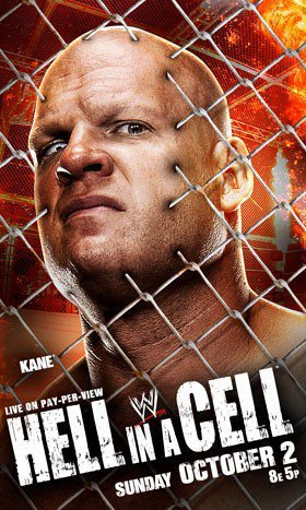 Affiche du pay-per-view Hell in a Cell .