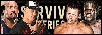 match simple The Rock John Cena vs the miz et r trouth