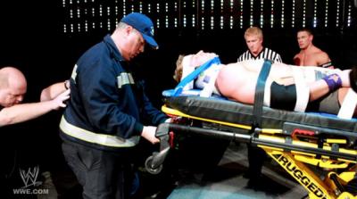 Zack Ryder vs Kane dans un Falls Count Anywhere Match