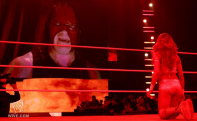 Eve vs Beth Phoenix + Kane effraie Eve + John Cena attaque Kane