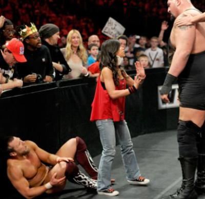 Daniel Bryan se sert clairement de AJ contre le Big Show