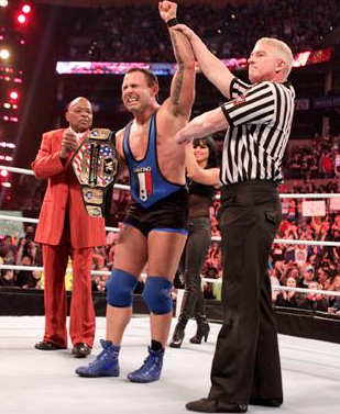 Santino Marella vs Jack Swagger ---> Santino Nouveau United States Champion
