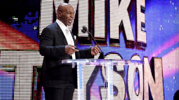 WWE Hall Of Fame Photos - Mike Tyson