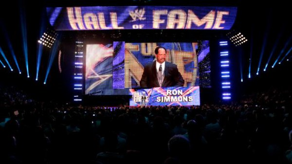 WWE Hall Of Fame Photos - Ron Simmons