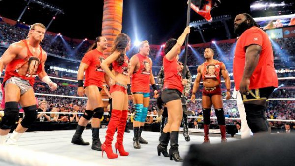 Team Teddy vs Team Laurinaitis