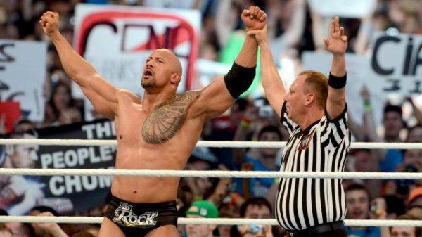 The Rock vs John Cena