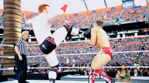 Sheamus vs Daniel Bryan --> un combat de 18 secondes !!!