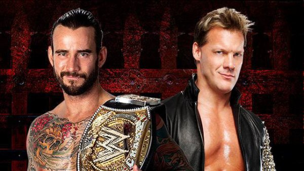 CM Punk vs. Chris Jericho dans Chicago Street Fight pour le WWE Championship