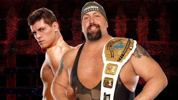 Intercontinental Championship : Match en simple : Cody Rhodes vs The Big Sho