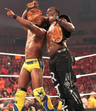 Kofi Kingston & R-Truth --> New Tag Team Champion