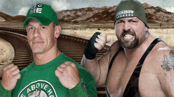 Match en simple : John Cena vs Big Show