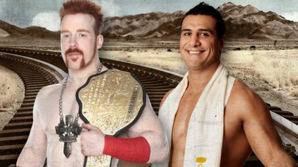 World Heavyweight Championship : Sheamus (c) vs Alberto Del Rio