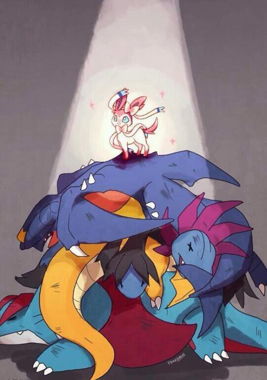 Dragon vs fée
