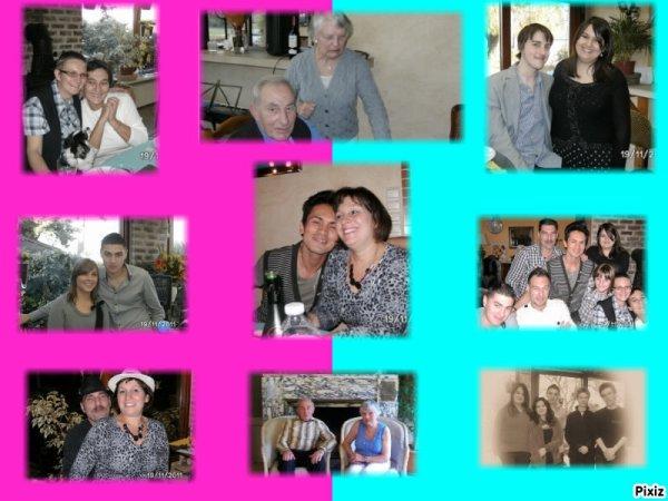 la famille  mon papa