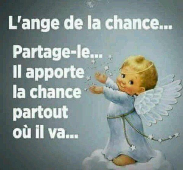 L ange de la chance