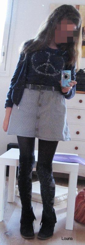 P'tite idée de mon style vestimentaire :3 ♥