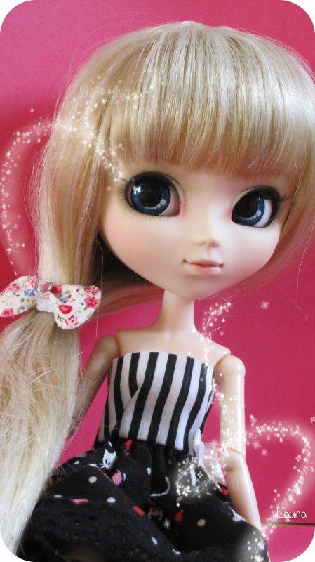April & Pink... ♥