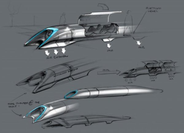 Elon Musk dévoile l'hyperloop, son projet de transport supersonique