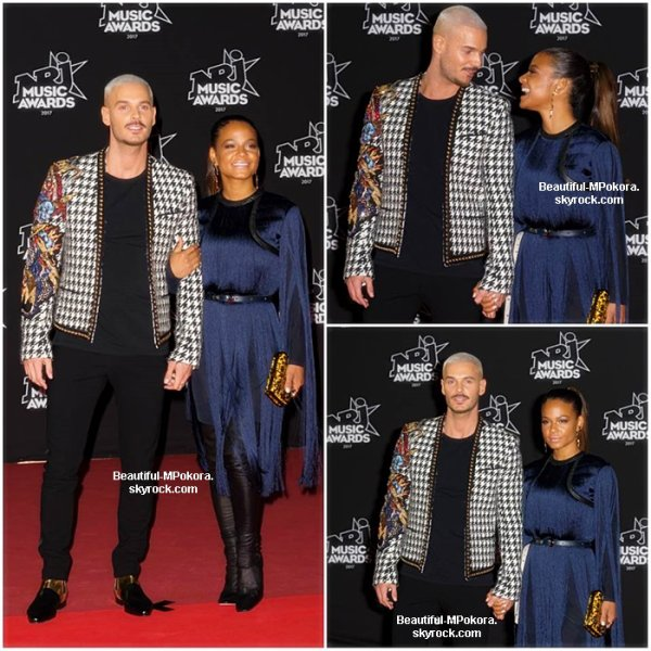 M Pokora aux NRJ Music Awards 2017