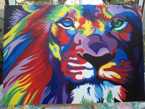 LE LION DE JOSIANE