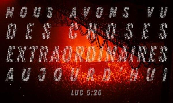 LUNDI 11 DÉCEMBRE 2017  Évangile: Luc (5, 17-26)