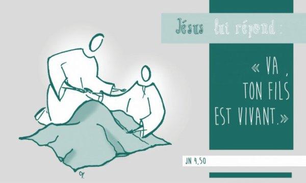 Évangile de Jésus Christ selon saint Jean (Jn 4, 43-54) LUNDI 12 MARS 2018