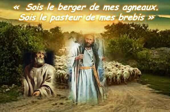 Vendredi 7 juin 2019  « Sois le berger de mes agneaux. Sois le pasteur de mes brebis »