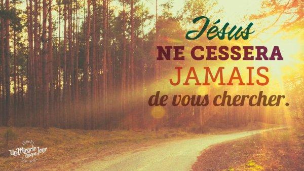 Dieu vous cherche, Mon ami(e)...