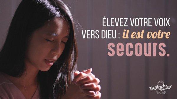 Quand vous n'avez plus de mots pour prier