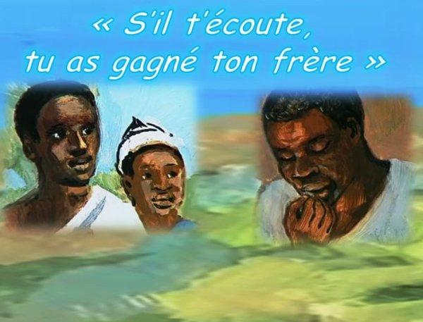 Mercredi 12 août 2020 Sainte Jeanne Françoise de Chantal « S'il t'écoute, tu as gagné ton frère »