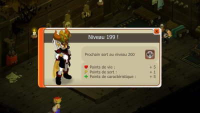 Cra niveau 199