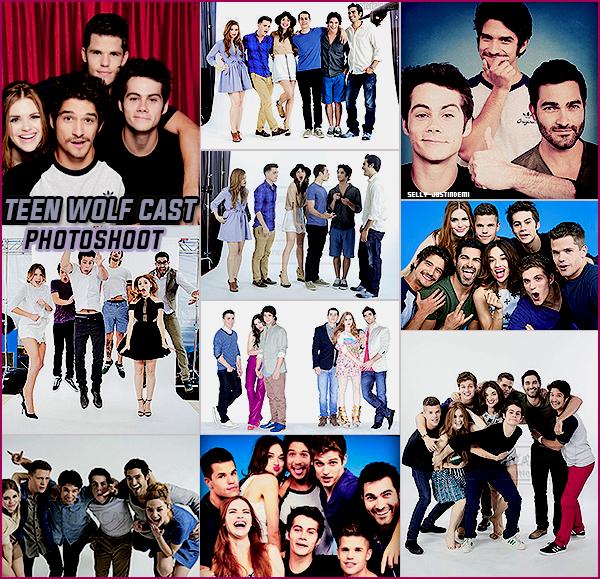 *  Redécouvrez d'anciens photoshoot du Cast de Teen Wolf. *