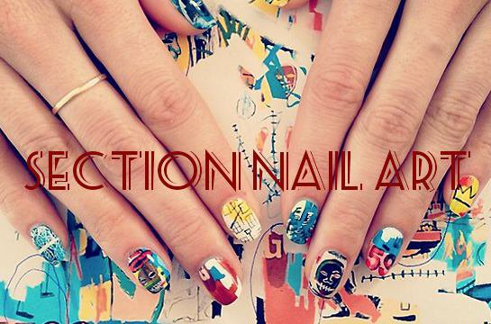 Nouveau nail art!!!
