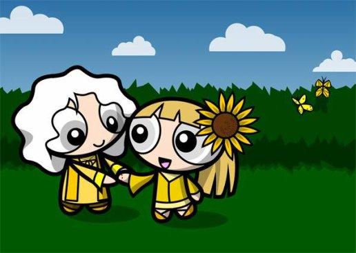 Spécial mariage ( Attenion,article multicolore ! )