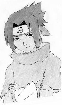 Sasuke uchiwa blog de feunardf dessin - Dessin naruto et sasuke ...
