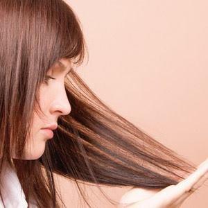 Les cheveux sec