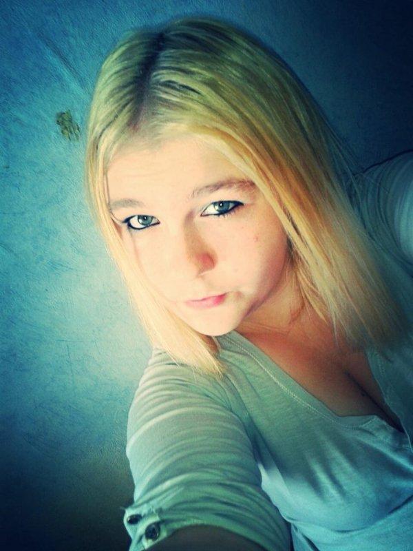 Je suis devenue blonde :D