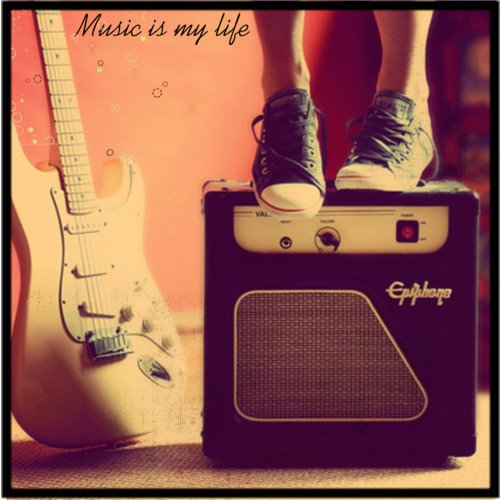 ♪je m'αssourdie pαr lα musique, pour ne plus m'entendre Pensser. ♪