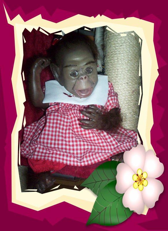 ROSIE petite chimpanzé nouvelle créa