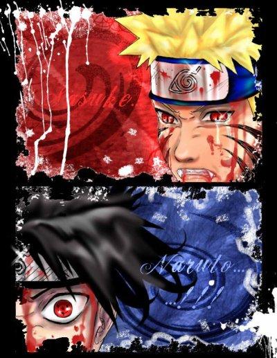 naruto vs sasuke