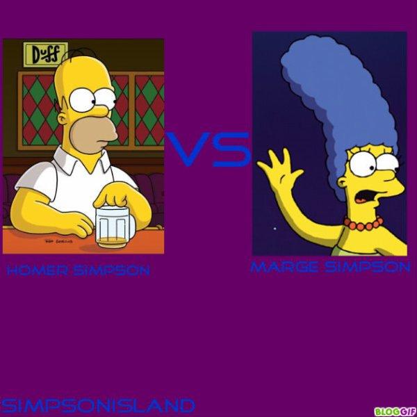 Homer VS Marge