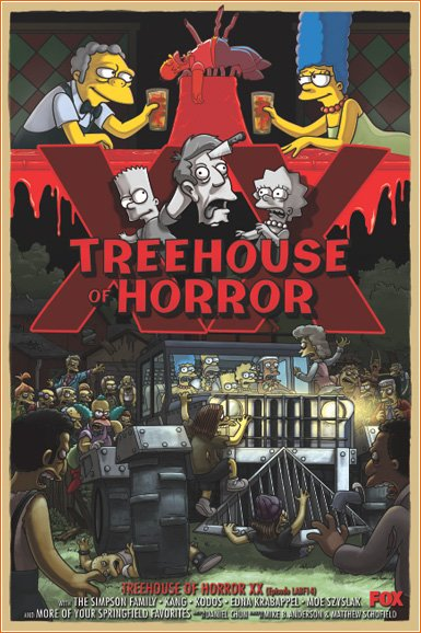 Saison 21 épisode 4 - Treehouse Of Horror XX
