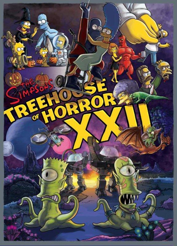 Carte promo Treehouse of Horror XXII