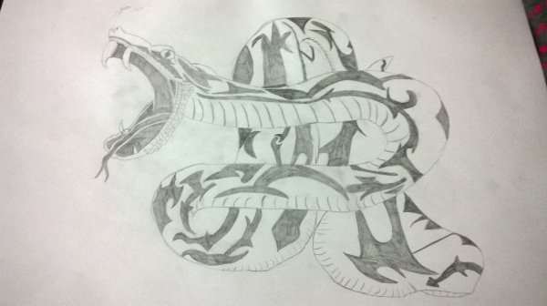 Serpent tribal