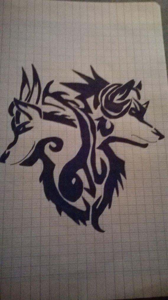Les deux faces du loup
