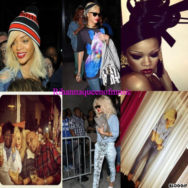 Rihanna red lipstick + http://couplesdereves-1998.skyrock.com/ un blog super !!!