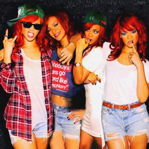Rihanna pour it up